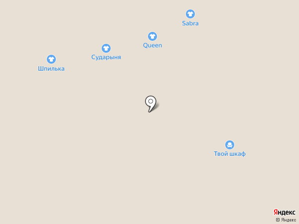 Ассоль на карте Астрахани