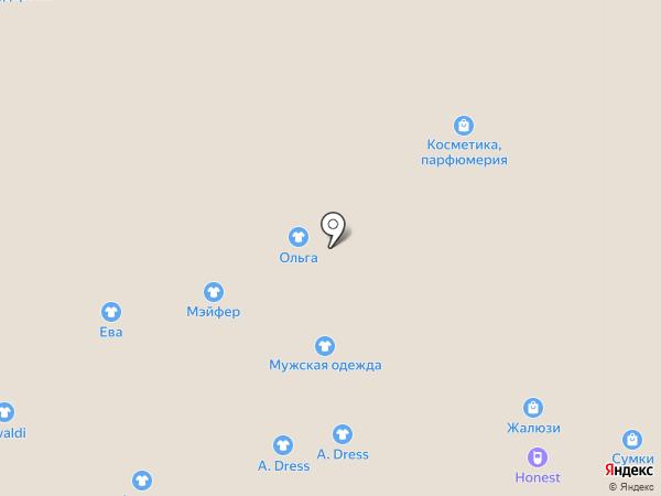 Мутон на карте Астрахани