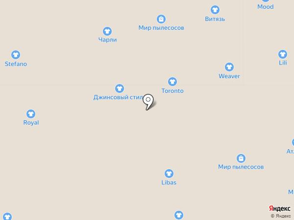 Амина на карте Астрахани