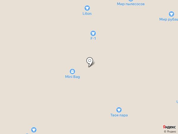 Магазин тканей и швейной фурнитуры на карте Астрахани