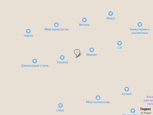 Бутик женской одежды на карте Астрахани