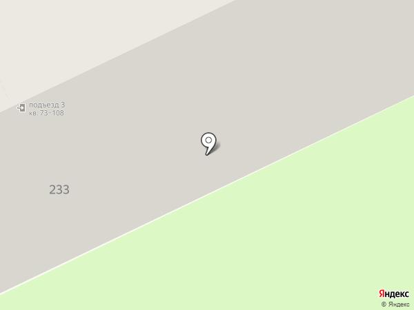 Фрегат на карте Астрахани
