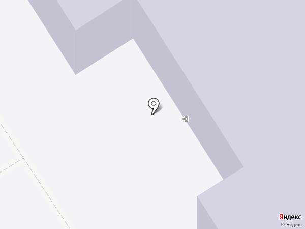 Кирпичнозаводская средняя общеобразовательная школа с дошкольным отделением на карте Кирпичного завода №1
