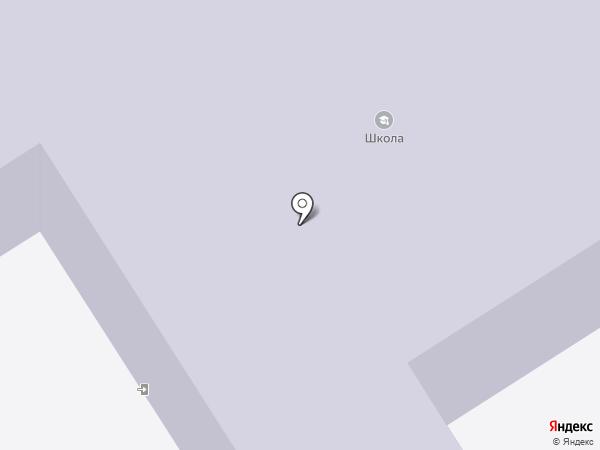 Кирпичнозаводская средняя общеобразовательная школа на карте Кирпичного завода №1