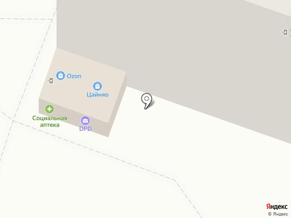 Канцпарк на карте Астрахани