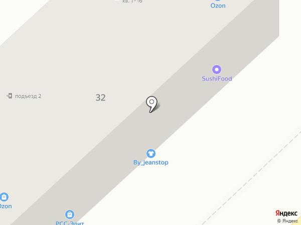 ВентЯШ на карте Астрахани