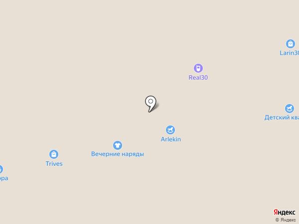 Ивашка на карте Астрахани