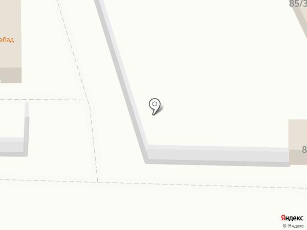 Магазин автозапчастей для Нива на карте Астрахани