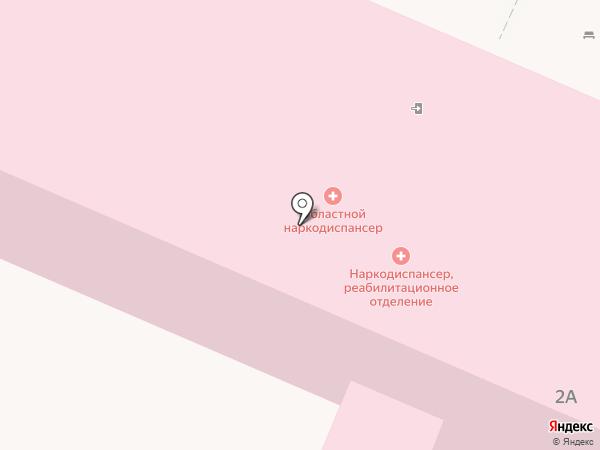 Детская наркологическая поликлиника на карте Астрахани