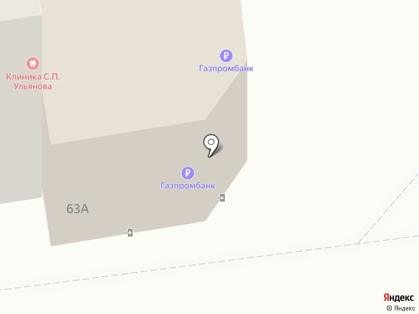 Банкомат, Газпромбанк на карте Астрахани