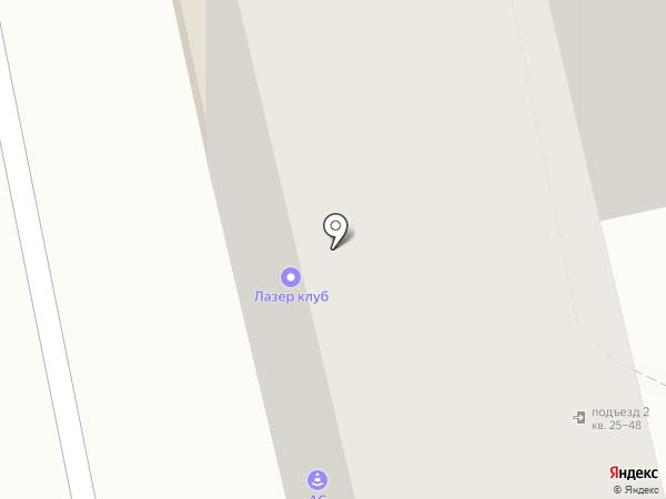 Синяя птица, АНО на карте Астрахани