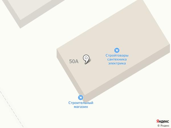 Продовольственный магазин на карте Кирпичного завода №1
