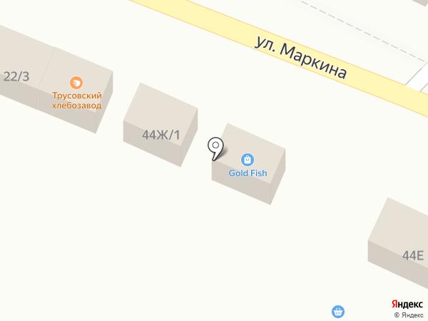 Gold Fish на карте Астрахани
