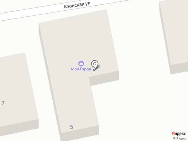 Производственная компания на карте Астрахани