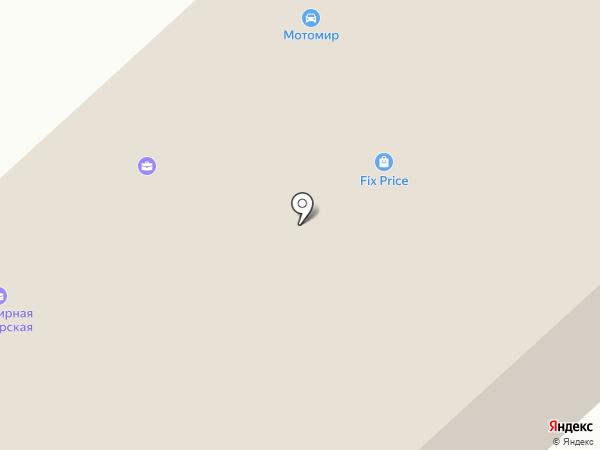 Главная дорога-плюс на карте Астрахани