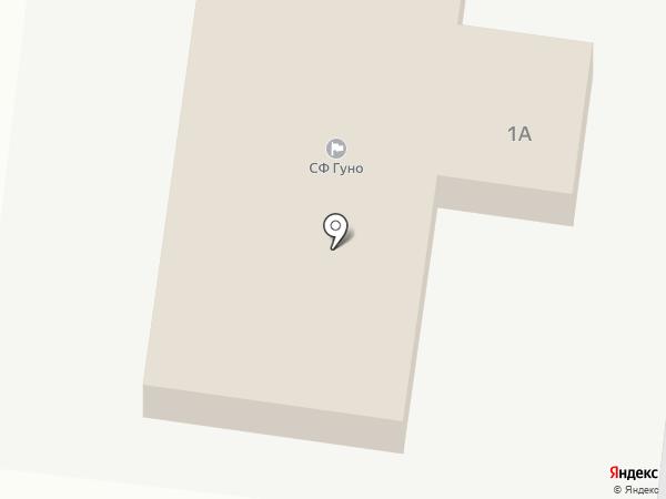 Гуно на карте Астрахани