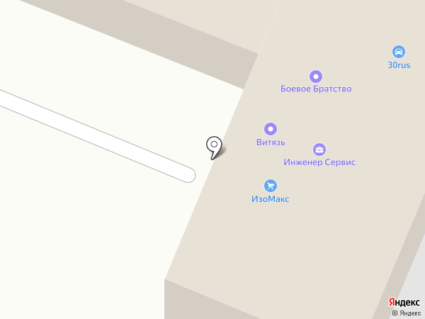 ИзоМакс на карте Астрахани