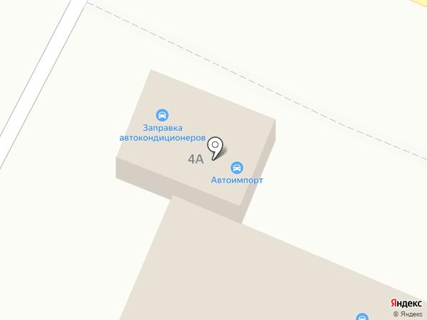 Автоимпорт на карте Астрахани