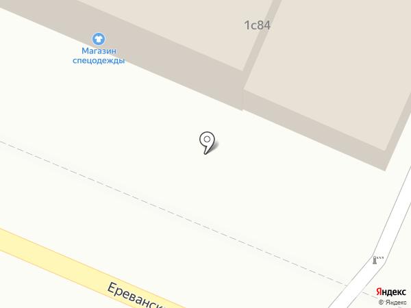 Магазин автозапчастей на карте Астрахани