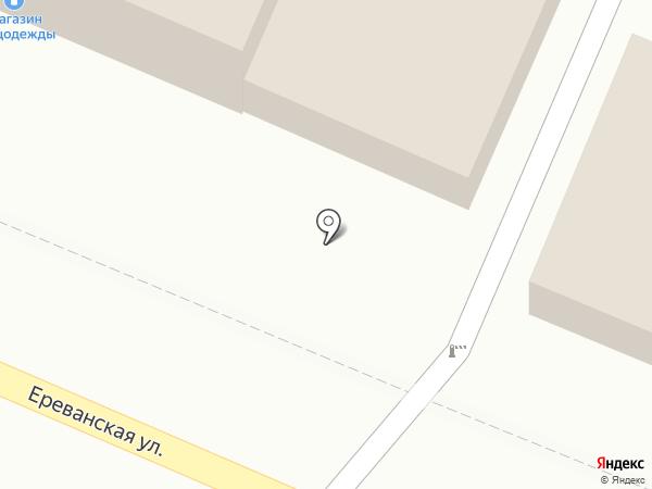 Аверс на карте Астрахани
