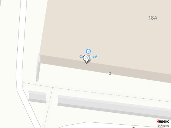 Семейный на карте Астрахани
