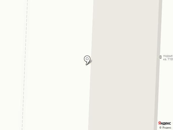 Соляной Дом на карте Астрахани