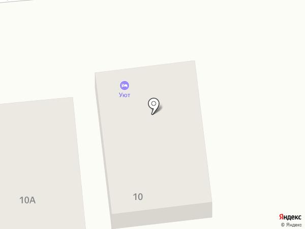 Гостевой дом на карте Астрахани