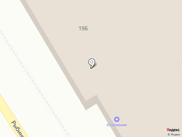 Гермес на карте Астрахани