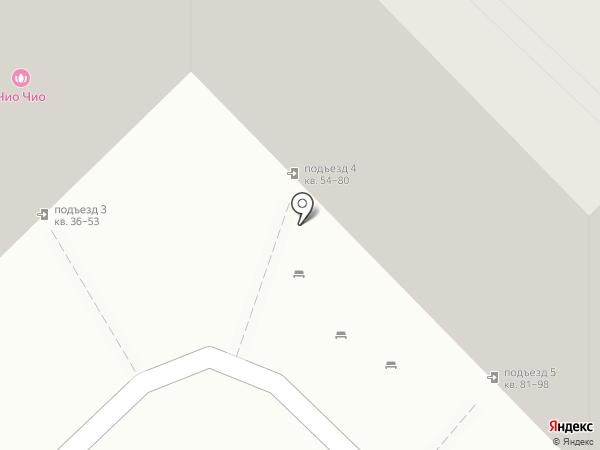 Дэлла на карте Астрахани
