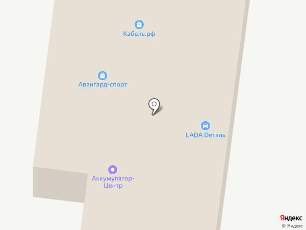 Электроопт на карте Астрахани