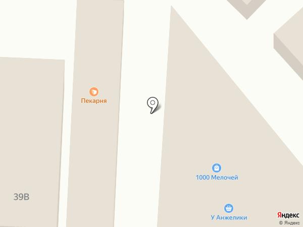 Пойменский хлеб на карте Астрахани