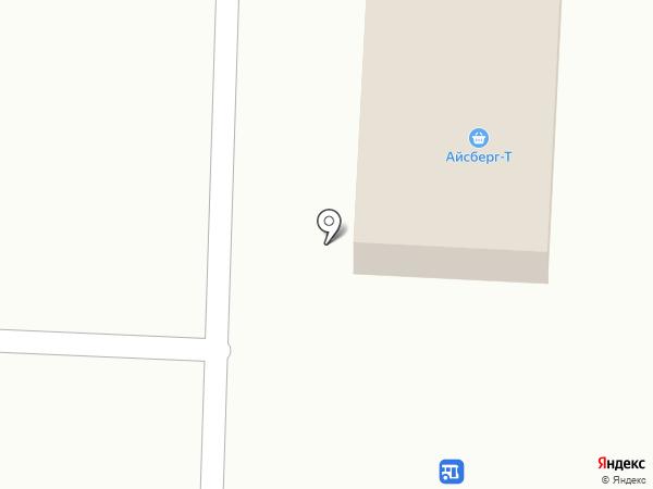 Айсберг-Т на карте Астрахани