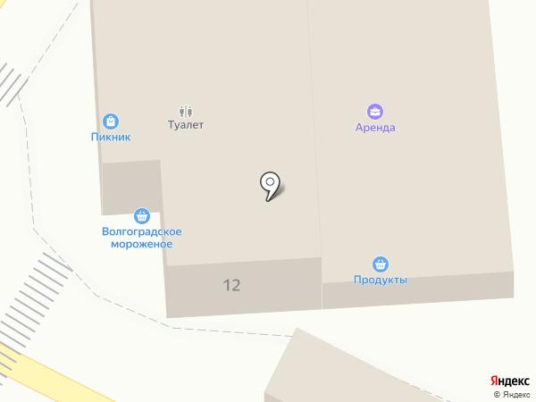 Светлана на карте Астрахани