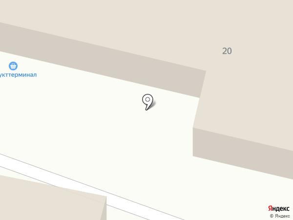 Идель на карте Астрахани