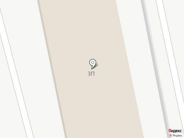 Торос на карте Астрахани