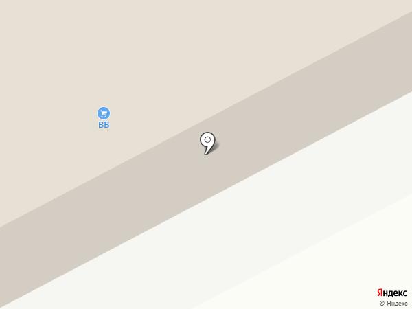 Аксоль на карте Астрахани