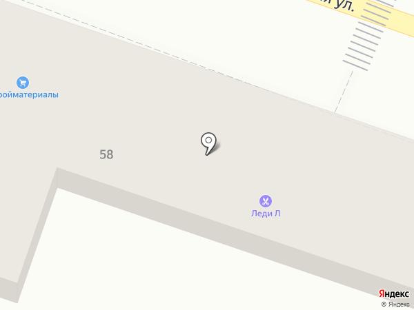 Люкс+ на карте Началово