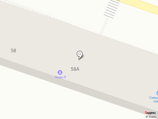 Леди-Л на карте Началово