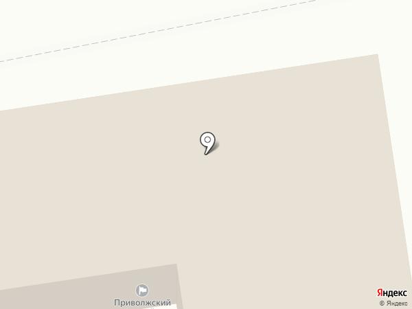Приволжский районный суд по Астраханской области на карте Началово