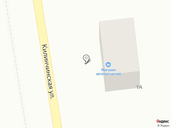 Магазин автозапчастей на карте Началово