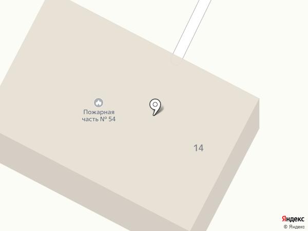 Пожарно-спасательная часть №54 на карте Началово