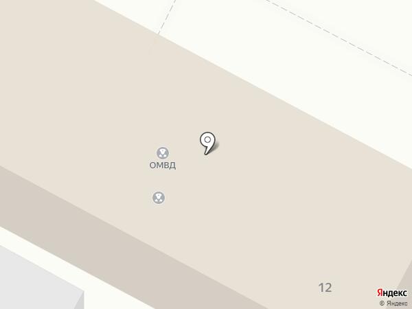 Отдел МВД России по Приволжскому району на карте Началово