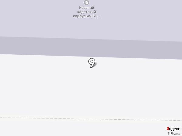 Казачий кадетский корпус им. атамана И.А. Бирюкова, ГАОУ на карте Началово