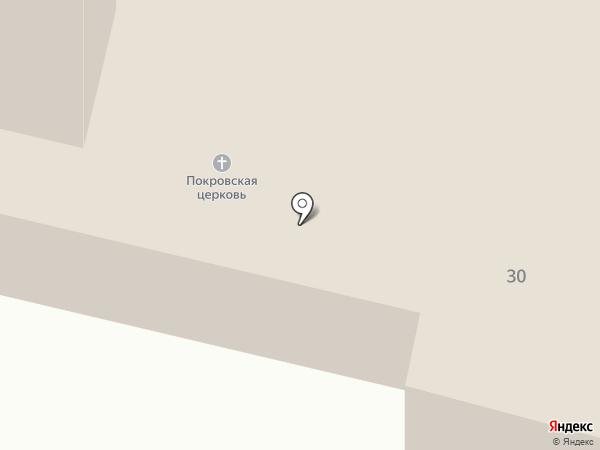 Храм Покрова Пресвятой Богородицы на карте Больших Ключищ
