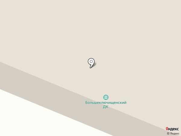Администрация Большеключищенского сельского поселения на карте Больших Ключищ