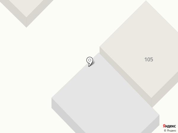 Продуктовый магазин на ул. Гимова на карте Ишеевки
