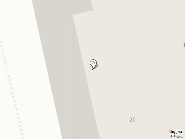 Детская поликлиника №9 на карте Ульяновска