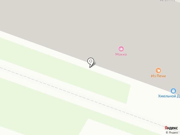 Мокко на карте Ульяновска