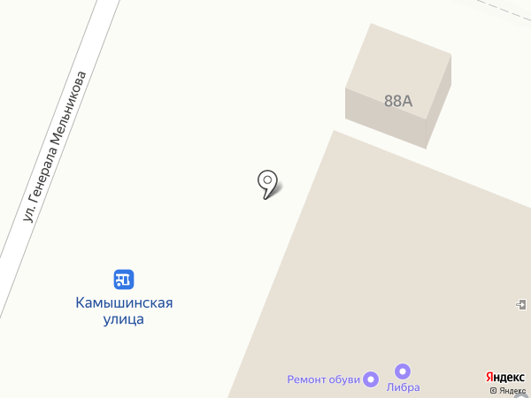 REX на карте Ульяновска