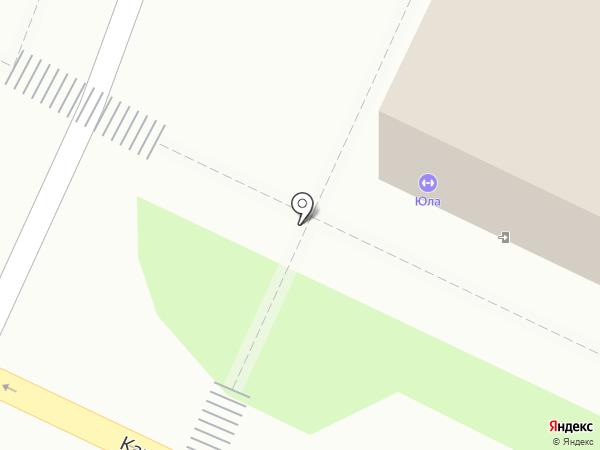 Градус на карте Ульяновска